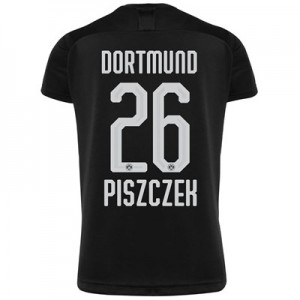 BVB Away Shirt 2019-20 - Kids with Piszczek 26 printing