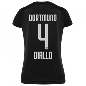 BVB Away Shirt 2019-20 - Womens with Diallo 4 printing