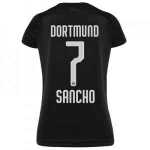 BVB Away Shirt 2019-20 - Womens with Sancho 7 printing