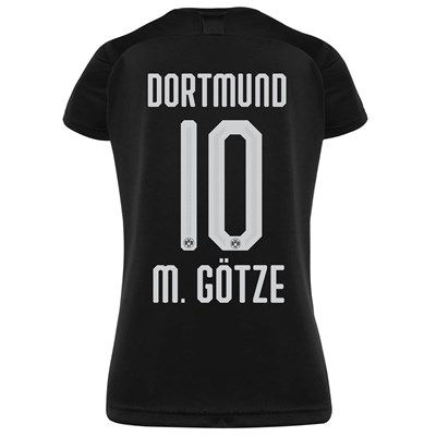 BVB Away Shirt 2019-20 - Womens with M. Götze 10 printing