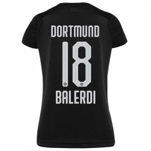 BVB Away Shirt 2019-20 - Womens with Balerdi 18 printing