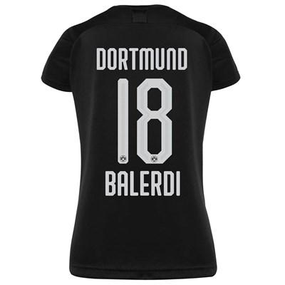 BVB Away Shirt 2019-20 - Womens with Balerdi 18 printing