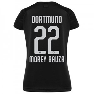 BVB Away Shirt 2019-20 - Womens with Morey Bauza 22 printing