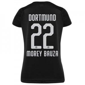 BVB Away Shirt 2019-20 - Womens with Morey Bauza 22 printing