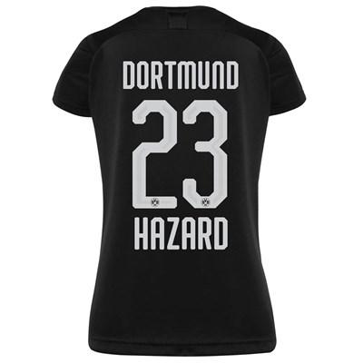 BVB Away Shirt 2019-20 - Womens with Hazard 23 printing