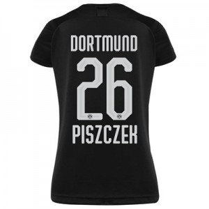 BVB Away Shirt 2019-20 - Womens with Piszczek 26 printing