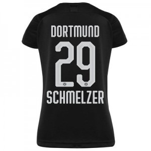 BVB Away Shirt 2019-20 - Womens with Schmelzer 29 printing