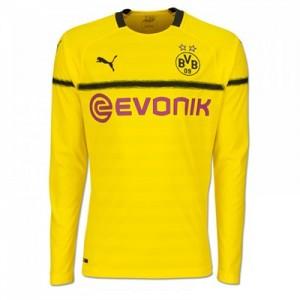 BVB Cup Home Shirt 2018-19 - Kids - Long Sleeve