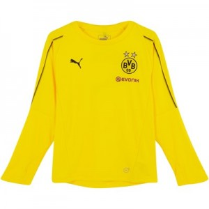 BVB Training Jersey - Yellow - Long Sleeve - Kids