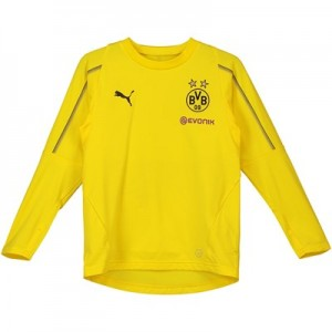 BVB Training Sweatshirt - Yellow - Kids