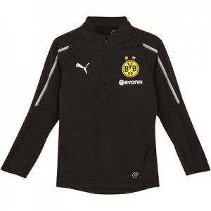 BVB 1/4 Zip Training Top - Black - Kids