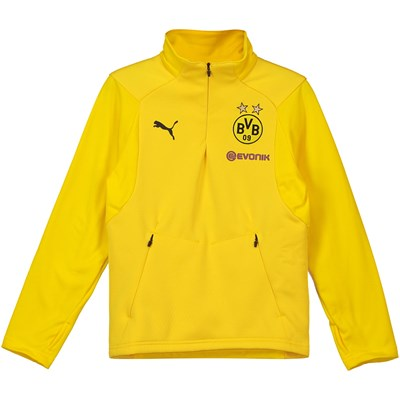 BVB Training Fleece - Yellow - Kids