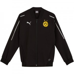 BVB Training Leisure Jacket - Black - Kids