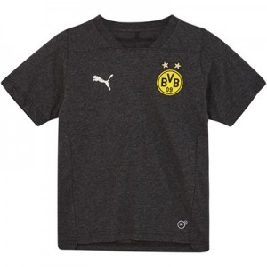 BVB Casuals T-Shirt - Dark Grey- Kids