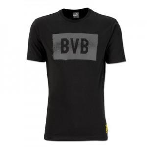 BVB Fan T-Shirt - Dark Grey - Womens