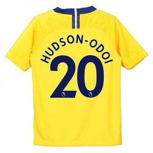 Chelsea Away Stadium Shirt 2018-19 - Kids with Hudson-Odoi 20 printing