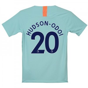 Chelsea Third Stadium Shirt 2018-19 - Kids with Hudson-Odoi 20 printing
