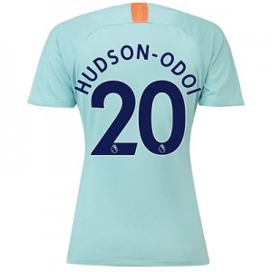 Chelsea Third Stadium Shirt 2018-19 - Womens with Hudson-Odoi 20 printing