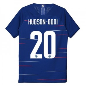 Chelsea Home Vapor Cup Match Shirt 2018-19 - Kids with Hudson-Odoi 20 printing