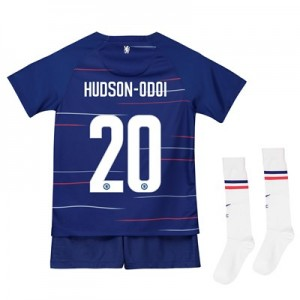 Chelsea Home Cup Stadium Kit 2018-19 - Infants with Hudson-Odoi 20 printing