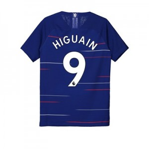Chelsea Home Vapor Match Shirt 2018-19 - Kids with Higuain 9 printing