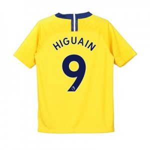 Chelsea Away Stadium Shirt 2018-19 - Kids with Higuain 9 printing