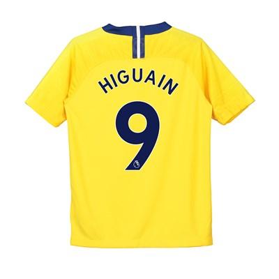 Chelsea Away Stadium Shirt 2018-19 - Kids with Higuain 9 printing