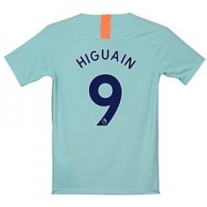 Chelsea Third Stadium Shirt 2018-19 - Kids with Higuain 9 printing