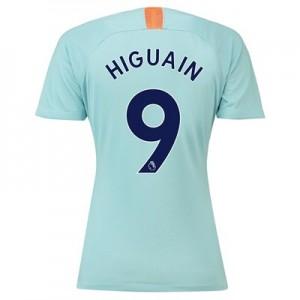 Chelsea Third Stadium Shirt 2018-19 - Womens with Higuain 9 printing
