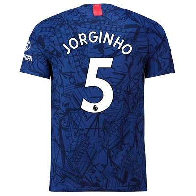 Chelsea Home Vapor Match Shirt 2019-20 with Jorginho 5 printing
