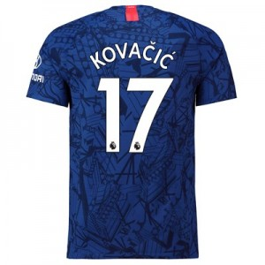 Chelsea Home Vapor Match Shirt 2019-20 with Kovacic  17 printing