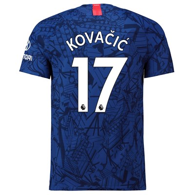 Chelsea Home Vapor Match Shirt 2019-20 with Kovacic  17 printing