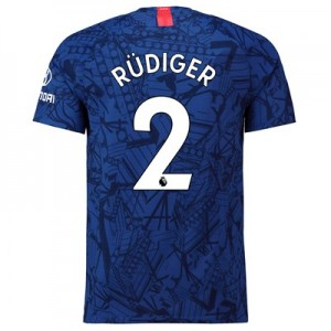 Chelsea Home Vapor Match Shirt 2019-20 with Rüdiger 2 printing