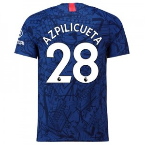 Chelsea Home Vapor Match Shirt 2019-20 with Azpilicueta 28 printing