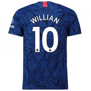 Chelsea Home Vapor Match Shirt 2019-20 with Willian 10 printing