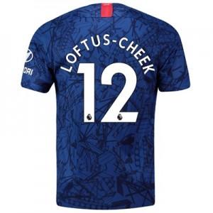 Chelsea Home Stadium Shirt 2019-20 with Loftus-Cheek 12 printing