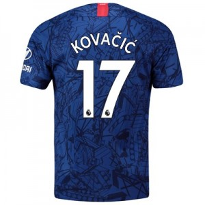 Chelsea Home Stadium Shirt 2019-20 with Kovacic  17 printing