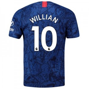 Chelsea Home Stadium Shirt 2019-20 with Willian 10 printing