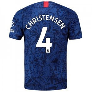 Chelsea Home Stadium Shirt 2019-20 with Christensen 4 printing