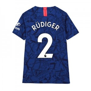 Chelsea Home Vapor Match Shirt 2019-20 - Kids with Rüdiger 2 printing