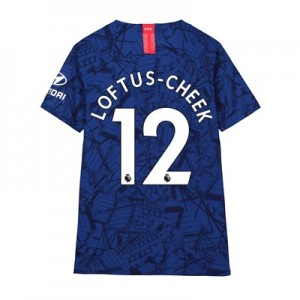 Chelsea Home Vapor Match Shirt 2019-20 - Kids with Loftus-Cheek 12 printing