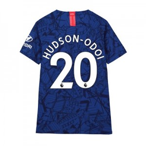 Chelsea Home Vapor Match Shirt 2019-20 - Kids with Hudson-Odoi 20 printing
