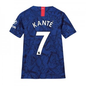 Chelsea Home Stadium Shirt 2019-20 - Kids with Kanté 7 printing