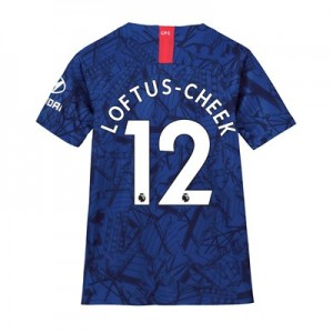 Chelsea Home Stadium Shirt 2019-20 - Kids with Loftus-Cheek 12 printing