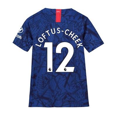 Chelsea Home Stadium Shirt 2019-20 - Kids with Loftus-Cheek 12 printing