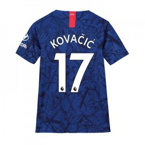 Chelsea Home Stadium Shirt 2019-20 - Kids with Kovacic  17 printing