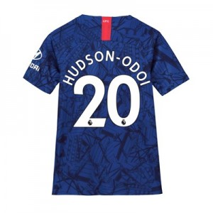 Chelsea Home Stadium Shirt 2019-20 - Kids with Hudson-Odoi 20 printing