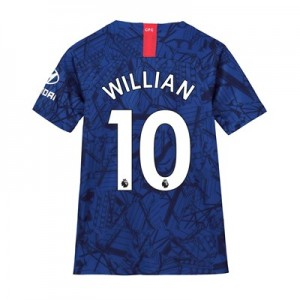 Chelsea Home Stadium Shirt 2019-20 - Kids with Willian 10 printing