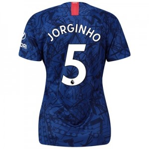 Chelsea Home Stadium Shirt 2019-20 - Womens with Jorginho 5 printing