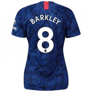Chelsea Home Stadium Shirt 2019-20 - Womens with Barkley 8 printing
